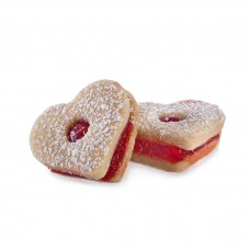 עוגיות חמאה וריבת פטל - פיס אוף קייק גבעתיים